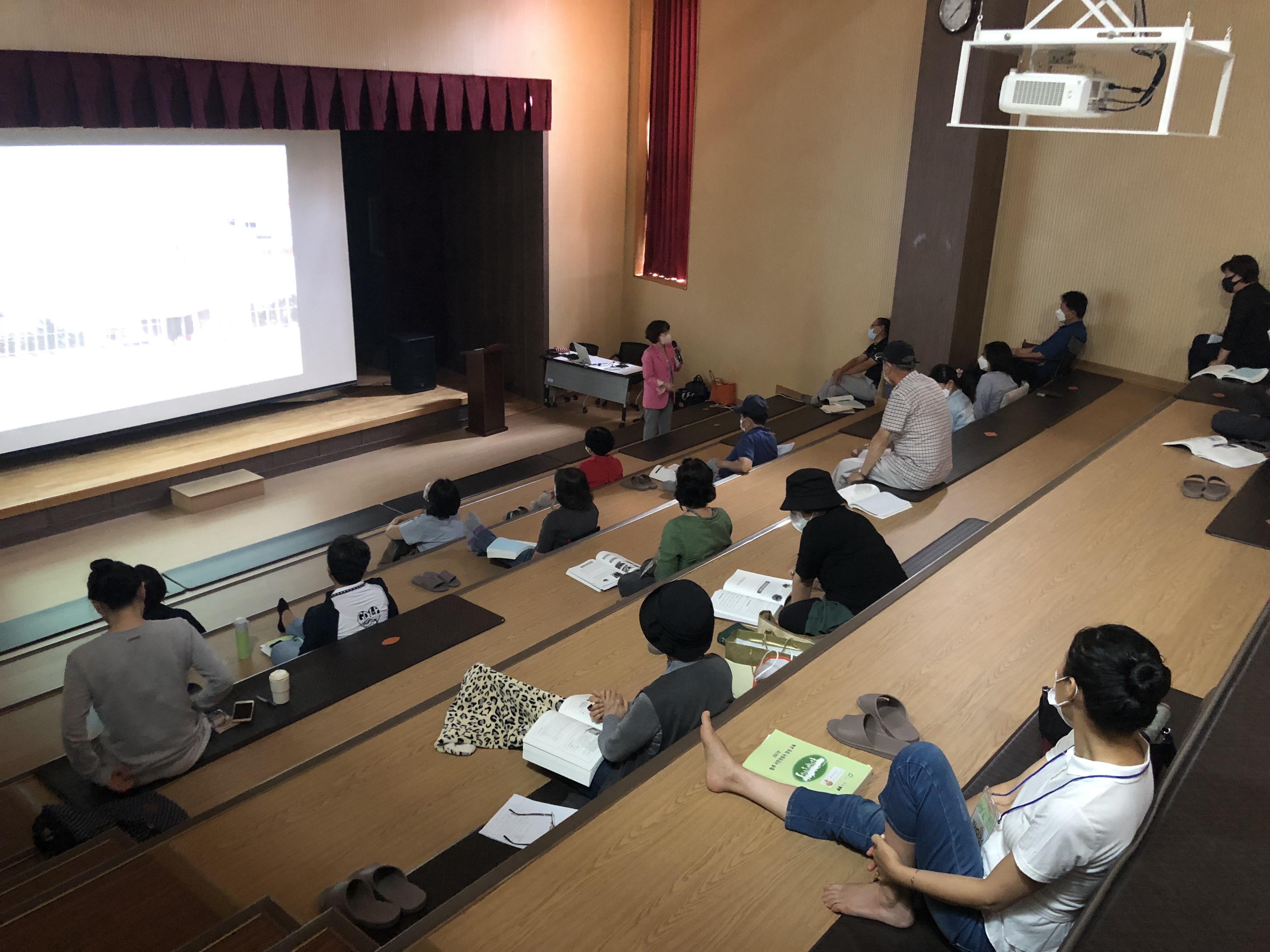 2021년 시민정원사 양성 교육 과정 8강/ 9강 (10월 2일/16…